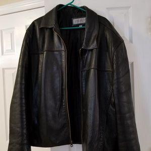 Men's Marc New York Black Leather Jacket